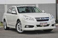 2012 Subaru Liberty B5 MY13 2.5X Lineartronic AWD White 6 Speed Constant Variable Sedan Mount Gravatt Brisbane South East Preview