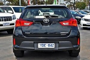 2012 Toyota Corolla ZRE182R Ascent Black 6 Speed Manual Hatchback Frankston Frankston Area Preview