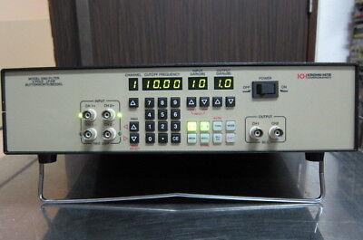 Krohn-hite 3362 Dual Channel 4-pole Filter 0.1hz To 200khz