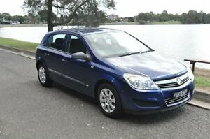 2007 Holden Astra AH MY07 CD Blue 4 Speed Automatic Hatchback Croydon Burwood Area Preview