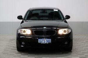 2011 BMW 120i E82 MY11 Black 6 Speed Automatic Coupe