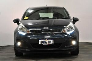 2012 Kia Rio UB MY12 SLS Blue 6 Speed Sports Automatic Hatchback Edgewater Joondalup Area Preview