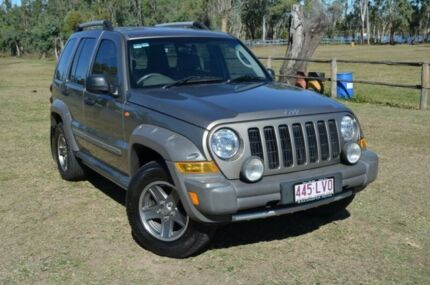 2005 Jeep Cherokee KJ Renegade Gold 0 Speed Automatic Wagon Berserker Rockhampton City Preview