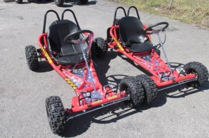 GO-KART TWIN XMAS PACKAGE 8.   $2950
