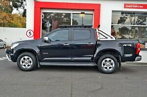 2012 Holden Colorado RG MY13 LTZ Crew Cab Black 6 Speed Sports Automatic Utility Upper Ferntree Gully Knox Area Preview