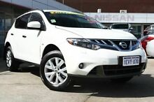 2015 Nissan Murano Z51 Series 4 MY14 ST White 6 Speed Constant Variable Wagon Edgewater Joondalup Area Preview