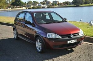 2002 Holden Barina XC Burgundy 4 Speed Automatic Hatchback Croydon Burwood Area Preview