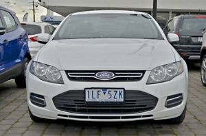 2013 Ford Falcon FG MkII XT EcoLPi White 6 Speed Sports Automatic Sedan
