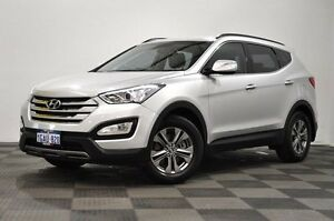2012 Hyundai Santa Fe DM MY13 Active Silver 6 Speed Sports Automatic Wagon Edgewater Joondalup Area Preview