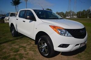 2013 Mazda BT-50 UP0YF1 XT White 6 Speed Sports Automatic Utility Vincent Townsville City Preview