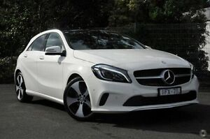 2016 Mercedes-Benz A200 White Sports Automatic Dual Clutch Hatchback Doncaster Manningham Area Preview