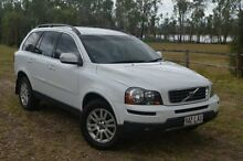 2008 Volvo XC90 P28 MY08 D5 Ice White 6 Speed Automatic Wagon Berserker Rockhampton City Preview