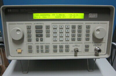 Hpagilent Signal Generator 250khz-1ghz
