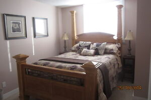 2 BR furnished & serviced condo Eau Claire Downtown $125.00 pd