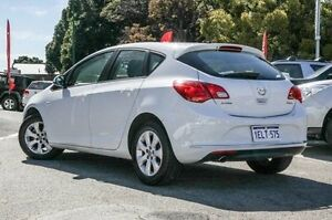 2013 Opel Astra AS White 6 Speed Manual Hatchback Victoria Park Victoria Park Area Preview