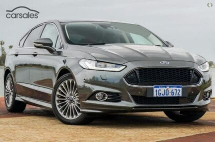 2016 Ford Mondeo MD Titanium PwrShift Grey 6 Speed Sports Automatic Dual Clutch Hatchback