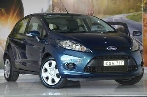 2012 Ford Fiesta WT CL PwrShift Blue 6 Speed Sports Automatic Dual Clutch Hatchback Liverpool Liverpool Area Preview