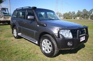 2014 Mitsubishi Pajero NW MY14 GLX-R Grey 5 Speed Sports Automatic Wagon Vincent Townsville City Preview