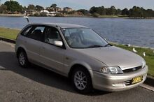 2000 Ford Laser KN GLXi Gold 4 Speed Automatic Hatchback Croydon Burwood Area Preview