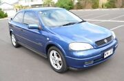2003 Holden Astra TS MY03 Equipe City Blue 5 Speed Manual Hatchback Brompton Charles Sturt Area Preview