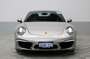 2013 Porsche 911 991 MY13 Carrera Silver 7 Speed Manual Coupe
