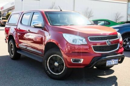 2012 Holden Colorado RG MY13 LTZ Crew Cab Red 6 Speed Auto Seq Sportshift Utility Mindarie Wanneroo Area Preview