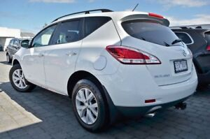 2012 Nissan Murano Z51 Series 3 ST White 6 Speed Constant Variable Wagon