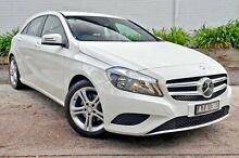 2015 Mercedes-Benz A180 176 MY15 BE White 7 Speed Sports Automatic Dual Clutch Hatchback Burwood Whitehorse Area Preview