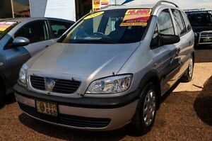 2003 Holden Zafira TT Equipe Silver Automatic Wagon Fyshwick South Canberra Preview