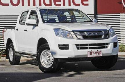 2012 Isuzu D-MAX MY12 SX Crew Cab White 5 Speed Manual Utility Mount Gravatt Brisbane South East Preview