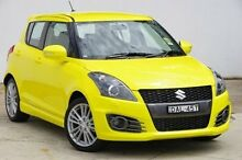 2015 Suzuki Swift FZ MY15 Sport Yellow 7 Speed Constant Variable Hatchback Blacktown Blacktown Area Preview