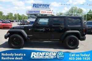 2016 Jeep Wrangler Unlimited Rubicon, Nav, Leather, Manual, Blac