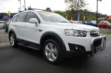 2012 Holden Captiva CG Series II 7 CX (4x4) White 6 Speed Automatic Wagon Upper Ferntree Gully Knox Area Preview