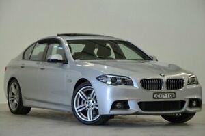 2014 BMW 520d F10 LCI M Sport Steptronic Glacier Silver 8 Speed Sports Automatic Sedan Mascot Rockdale Area Preview