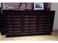Exotic antique Indian cabinet for sale