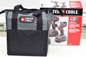 New in box - Porter Cable 18V Drill + Impact driver combo kit