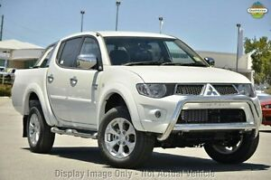 2012 Mitsubishi Triton MN MY12 GLX-R Double Cab White 5 Speed Sports Automatic Utility Liverpool Liverpool Area Preview