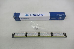 TrendNet Patch Panel (New in Box) - 24 Ports
