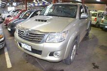 2013 Toyota Hilux KUN26R MY14 SR5 Double Cab Blue 5 Speed Automatic Utility Renown Park Charles Sturt Area Preview