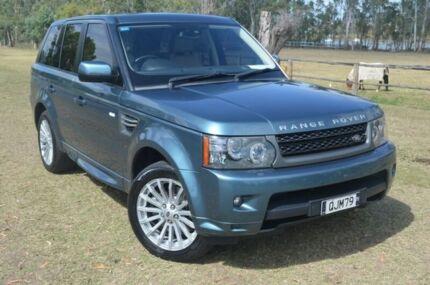 2011 Land Rover Range Rover Sport SDV6 Luxury Green 6 Speed Automatic Wagon Berserker Rockhampton City Preview