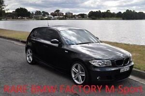 2006 BMW 120I E87 20I Black 6 Speed Manual Hatchback Croydon Burwood Area Preview