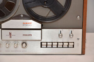 philips 4407 Reel-to Reel tape bobine 4 track tape player WORKS West Island Greater Montréal image 4