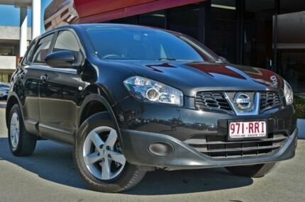 2011 Nissan Dualis J10 Series II MY2010 ST Hatch Black 6 Speed Manual Hatchback Aspley Brisbane North East Preview