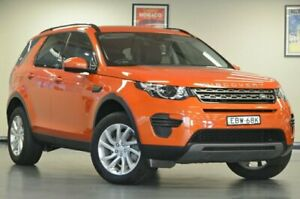 2016 Land Rover Discovery Sport L550 MY17 TD4 180 SE Phoenix Orange Semi Auto Wagon