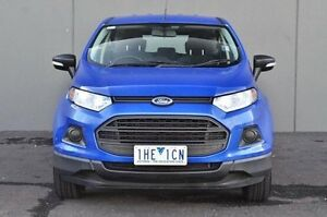 2014 Ford Ecosport Blue Sports Automatic Dual Clutch Wagon Cranbourne Casey Area Preview