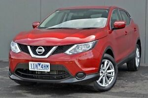 2014 Nissan Qashqai Red Constant Variable Wagon Cranbourne Casey Area Preview