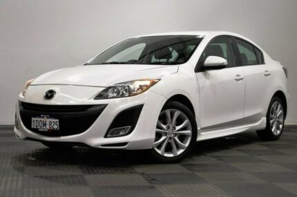 2010 Mazda 3 BL10L1 MY10 SP25 Activematic White 5 Speed Sports Automatic Sedan