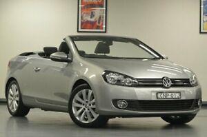 2013 Volkswagen Golf VI MY13.5 118TSI Silver Semi Auto Cabriolet Chatswood Willoughby Area Preview