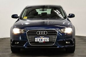 2014 Audi A4 B8 8K MY14 Multitronic Blue 8 Speed Constant Variable Sedan Thornlie Gosnells Area Preview