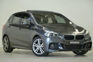 2015 BMW 218d F45 M Sport Active Tourer Steptronic Mineral Grey 8 Speed Automatic Hatchback Mascot Rockdale Area Preview
